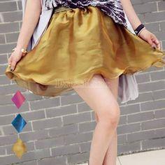Women's Flouncing Strapless Top Bubble Skirt with Belt 3 Colors