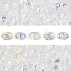 MiniDuo Perlen 2.5x4mm crystal AB (10g)