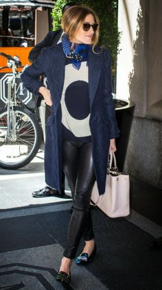Olivia Palermo Layers Up at The Mark Hotel in NYC   The Front Row View