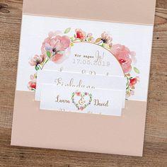 "Hochzeitseinladung ""Irene"" - weddix.de"