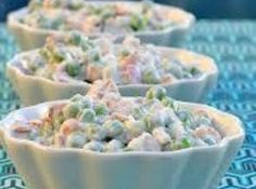Peas and Peanuts Salad -- Signature dish from The Embers restaurant in Mt. Pleasant, MI