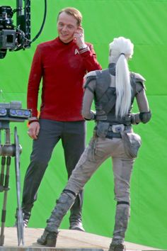 STAR TREK BEYOND First Footage From the Set