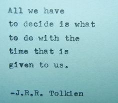 J.R.R. Tolkien Poem Hand Typed Poem Made with by PoetryBoutique, $8.00