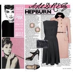 Audrey Hepburn- I Believe In Pink