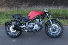 1993 Yamaha Seca II Diversion XJ600, Custom Dirt Fighter, Cafe Racer, Tracker