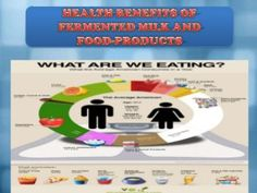Health benefits of fermented milk and food products