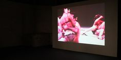 """Carolee Schneemann is perhaps most widely known for her 1964 piece """"Meat Joy,"""" in which a mass of naked youths frolic and roll amongst chicken legs, paint, sausages and fish. It's a feast of raw flesh and a celebration of bodies of all kinds."""
