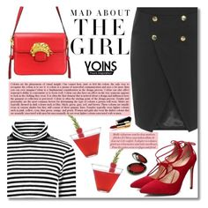 """""""Yoins #9"""" by m-zineta ❤ liked on Polyvore featuring Kershaw, Rituel de Fille, Chanel and yoins"""