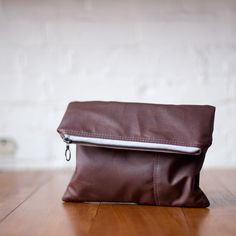 The Envelope Clutch no.1 - in Oxblood
