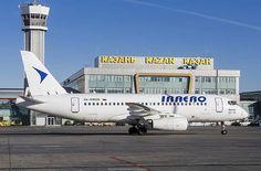 IrAero Sukhoi Superjet at Kazan Sukhoi Superjet 100, Russia, Aircraft, Aviation, Planes, Airplane, Airplanes, Plane