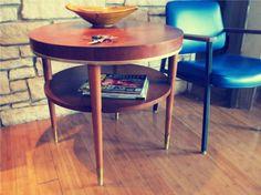 Round Vintage Side table