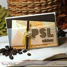 PSL Wishes by Kerry Urbatch for Coffee Loving Cardmakers