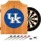 University of Kentucky Wordmark 20.5 in. Wood Dart Cabinet Set