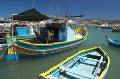 #Marsaxlokk przystań rybacka #Malta Marek Jagusiak pracownik działu Marketingu