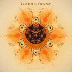 by Suvetar on DeviantArt Chakra Art, Sacral Chakra, Chakra Healing, Chakras, Shiva Shakti, Tantra, Yin Yang, Yoga Tools, Cow Face Pose