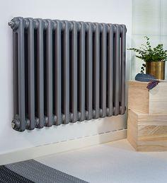 radiator i dörröppning Decorating Your Home, Interior Decorating, Bathroom Radiators, Towel Warmer, Interior Inspiration, Villa, Home Appliances, Living Room, Retro