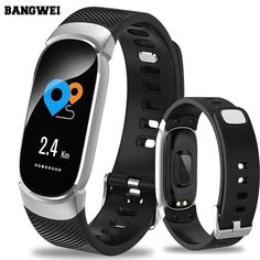 Feature: Sleep Tracker,Mood Tracker,Call Reminder,Complete Calendar,Shock Resistant,Luminous Hands,LED display,Fitness Tracker,Anti-magnetic,Auto Date,Message Reminder,Week Display,Water Resistant,bluetooth,Heart Rate Monitor,Back Light,Alarm,LuminousStyle: SportBand Width: 10mmDial Window Material Type: GlassWater Resistance Depth: 3BarBoxes & Cases Material: PaperCase Shape: RectangleMovement: Smart,DigitalClasp Type: BuckleBand Length: 26cmBand Material Type: PUDial Diameter: 20mmCase Thi Swiss Army Watches, Track Workout, Waterproof Watch, Smart Bracelet, Fitness Watch, Heart Rate, Fitness Tracker, Blood Pressure, Sports Women