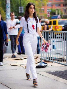 New York Fashion Week SS 2016 Street Style: Leandra Medine Street Look, Street Chic, Street Style 2016, Street Style Women, Street Styles, Foto Fashion, Fashion Week, New York Fashion, Girl Fashion