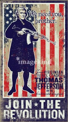 Even Thomas Jefferson wants you to join us!