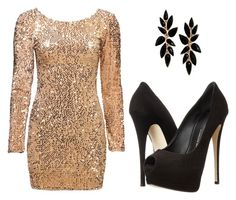 """Winter party"" by m8padilla on Polyvore featuring moda y Giuseppe Zanotti"
