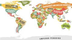 This Map Shows What Every Country Leads The World In And It's Not Entirely Flattering