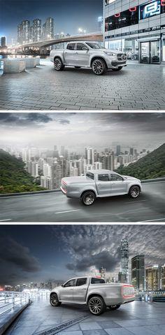 The world's first true premium pickup: the Mercedes-Benz Concept X-Class.