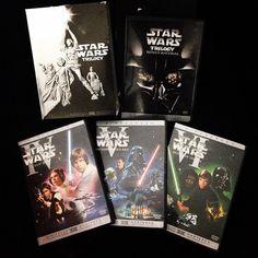Nuevo #episodio de #LaBovedaDeDrak con #StarWars #trilogy en #DVD (2004). Busca nuestro #youtube !! #peliculas #videojuegos #infogamers #youtubepr @youtubersboricuas