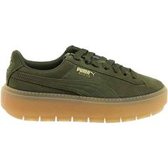 best sneakers fe5d6 9082d Amazon.com   PUMA Women s Suede Platform Trace Sneakers   Athletic Puma  Platform, Platform
