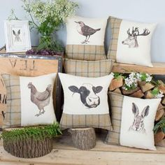 Patterned Cushions and Sofa Throws for your Home. Personalised Cushion Covers . Unique Home Gifts and Present Ideas. Luxury Soft Furnishings.