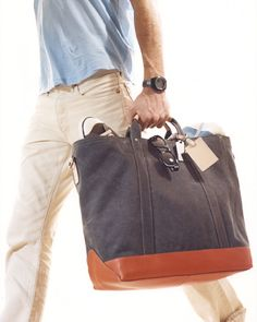 Coach's Mens Tote. #nyc #fashion ?  Hmmm. Would you carry this?