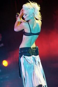 Gwen Stefani, I still think she invented the gypsy rocker chic pin up look. Who else has mashed it all into one before her?