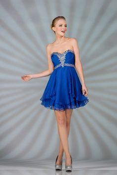 Beaded Chiffon Short Sweetheart Prom Elegant Fancy Sequins Strapless Designer | eBay