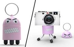 Digidudes Are Keychains with Built-In Camera Tripods