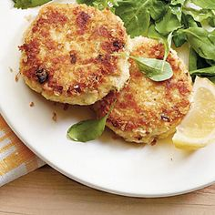 Quick-Fix Seafood Suppers | Crunchy Crab Cakes | SouthernLiving.com