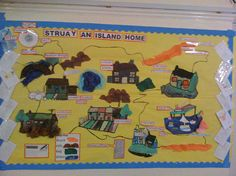 Struay - An island home - Year 2 classroom display photo - Photo gallery - SparkleBox Class Displays, School Displays, Classroom Displays, Photo Displays, Katie Morag, Year 2 Classroom, Creative Curriculum, My Community, Display Homes