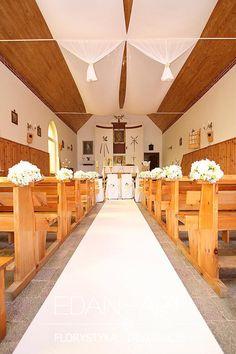 Dekoracje kościołów Tałty, Olsztyn, Warmińsko-Mazurskie Edan-Art #wesele #slub
