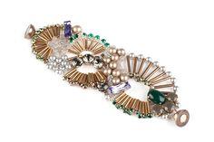 Tataborello green swarovski bracelet