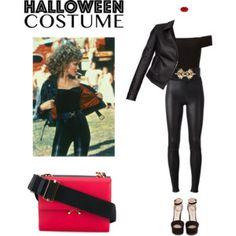 EASY Halloween costume! --> Sandy for halloween  #halloween #grease #leather #offshoulder