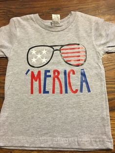 Boys Fourth of July Shirt-Kids 4th of July Shirt-Fourth of July Boys Shirt Merica-4th of July-Fourth of July-Memorial Day-Merica Shirt by FaithGraceBoutique on Etsy https://www.etsy.com/listing/292535289/boys-fourth-of-july-shirt-kids-4th-of