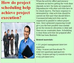 Related materials: 111 project management interview questions. Ebook: interviewquestionsebooks.com/download/UltimateGuideToJobInterviewAnswers
