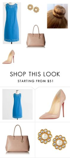 """J' adore Jcrew"" by mpotanovic on Polyvore featuring J.Crew, Christian Louboutin, Furla and Kate Spade"