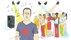 Wat is erop tegen om bij concerten gewoon je waffel te houden?