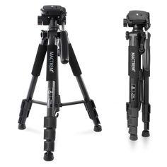 Mactrem PT55 Compact Lightweight Camera Tripod, 55 Inch logest