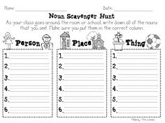 Nouns and Mudge :)