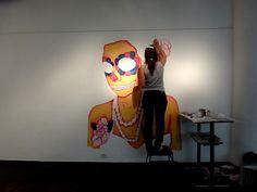 Belen Bulgheroni Mural 2012