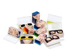 Grafic plastic for eyeglasses PD