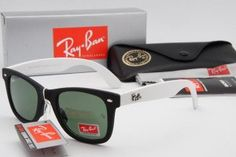 Ray Ban 2013 2140 Original Wayfarer Sunglasses Army Green Black Red UK