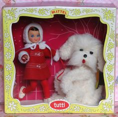 """Barbie & Skipper's little sister, Tutti """"Me and My Dog"""" Playset"""