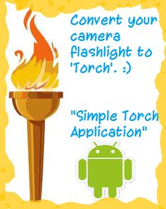 Want to create your own 'Torch' application? Take a look at the blog post!!