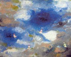 Wolkentänzer Öl 2012 40x50cm